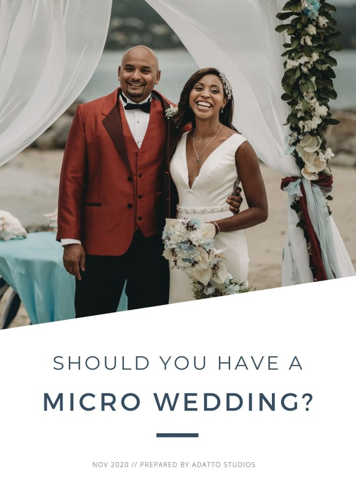 Should you have a micro wedding